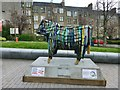 NS4763 : Sculpture: Cow by Lairich Rig