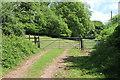 ST1584 : Cambrian Way at Cefncarnau-fawr by M J Roscoe