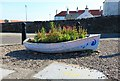 NT3294 : Ornamental planter, West Wemyss by Bill Kasman