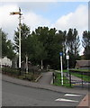 SS9390 : Old semaphore signal, Commercial Street, Ogmore Vale by Jaggery
