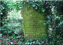 TG2408 : The grave of John Scott by Evelyn Simak