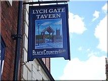 SO9198 : Lych Gate Tavern Sign by Gordon Griffiths
