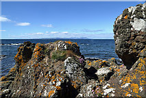 NS2007 : The rocky shore at Cross Ports by Walter Baxter
