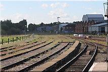 SO8555 : Worcester Shrub Hill by Andrew Abbott