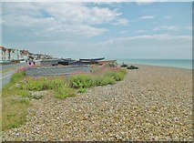 TQ1602 : Worthing, boat pitches by Mike Faherty