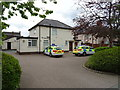 SJ3554 : Police Station on Chester Road, Gresford by JThomas