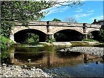 NS5036 : 'The Muckle Brig' - Galston Bridge by Raibeart MacAoidh