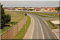 SK8051 : New road & new housing by Richard Croft