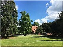 SU5985 : Across the lawn by Bill Nicholls