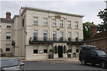 SO5139 : Castle Pool Hotel by Andrew Abbott
