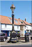 TG0738 : Victorian lamp-post by M H Evans