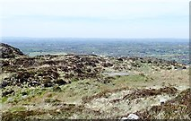 J0016 : Helipad on the summit ridge of Croslieve by Eric Jones
