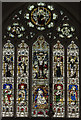 TF6741 : East window, St Edmund's church, Hunstanton by Julian P Guffogg