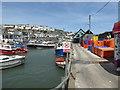 SX0144 : Mevagissey - fish quay by Chris Allen