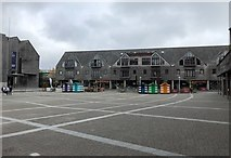 SW8132 : Shopping area by Chris Thomas-Atkin