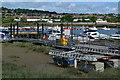 TQ7368 : Riverside clutter, Rochester by David Martin
