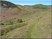 SJ0627 : Bridleway descent beside the Nant Ddial by Richard Law