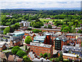 SO5039 : West-south-west from Hereford Cathedral by Brian Robert Marshall