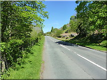 SJ0426 : B4391 heading uphill out of Llangynog by Richard Law