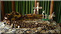 SO3660 : Easter Display inside St. Peter's Church (Nave | Staunton on Arrow) by Fabian Musto