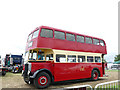 SJ7959 : Old bus at the Smallwood Rally by Stephen Craven