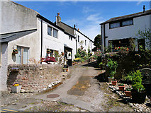 SD4161 : Cottages in Heysham Village by David Dixon