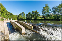 SO5074 : Fish pass by Ian Capper