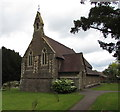 SO5219 : West side of Christ Church, Llangrove, Herefordshire by Jaggery