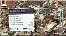 J3673 : Proposed social housing, Beersbridge Road, Belfast - June 2019(2) by Albert Bridge