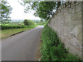 SJ2738 : The lane to Chirk from Chirk castle entrance by John S Turner