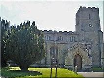 TL5646 : Parish church [2] by Michael Dibb