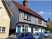 TL5646 : Linton houses [12] by Michael Dibb