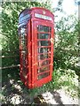 TQ0698 : K6 Telephone Box in Chandler's Cross by David Hillas