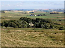 NY7969 : South from Hadrian's Wall by Rudi Winter