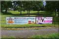 SJ3454 : Gresford Banners by Stephen McKay