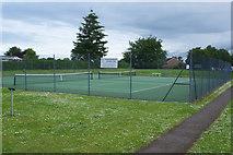 SJ3454 : Gresford & Marford Tennis Club by Stephen McKay