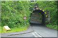 SJ3455 : Gresford Road railway bridge by Stephen McKay