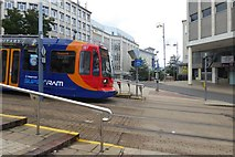 SK3587 : Tram at Castle Square by DS Pugh