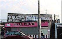 ST5878 : Nail Tech on Pen Park Road, Southmead by David Howard