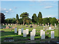 SE8048 : Cemetery in Pocklington by Trevor Littlewood