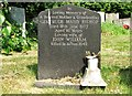 TG2408 : The grave of Gertrude Maud Bishop by Evelyn Simak