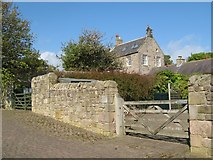 NU2422 : Dunstan Steads farmhouse by Jonathan Wilkins