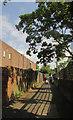 TQ0576 : Footpath, Longford by Derek Harper