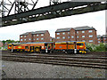 SJ4167 : Track maintenance train at Chester by Stephen Craven