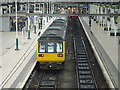 SJ8497 : Manchester Piccadilly Railway Station by JThomas