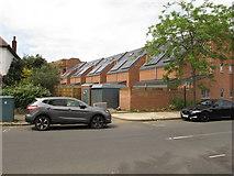 TQ2081 : Solar panels, Grieg Road, North Acton by David Hawgood