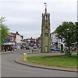 SP2871 : Kenilworth Clock by John Sutton