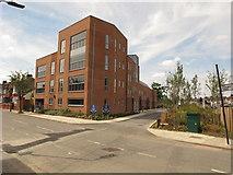 TQ2081 : Mahler House apartment block, Holst Road by David Hawgood