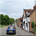 SP2872 : Kenilworth: near the corner of School Lane by John Sutton