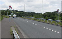 ST1599 : From 40 to 30 on Station Road, Bargoed by Jaggery